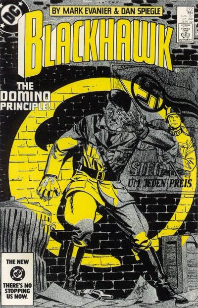 Cover for Blackhawk (DC, 1957 series) #272 [direct-sales]