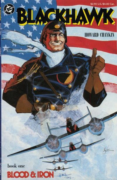 Cover for Blackhawk (DC, 1988 series) #1