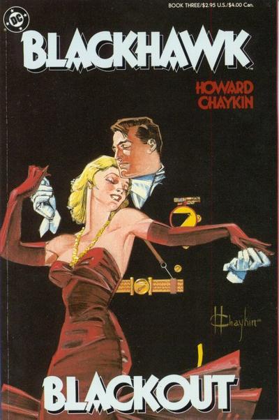 Cover for Blackhawk (DC, 1988 series) #3