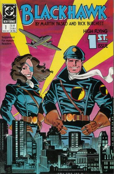 Cover for Blackhawk (DC, 1989 series) #1