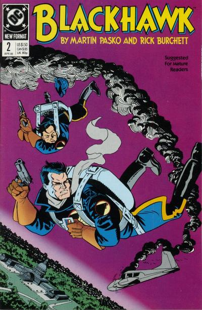 Cover for Blackhawk (DC, 1989 series) #2