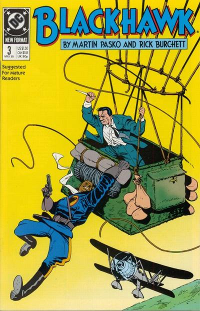 Cover for Blackhawk (DC, 1989 series) #3
