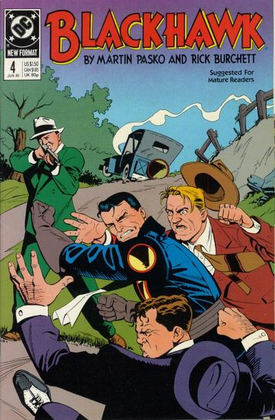 Cover for Blackhawk (DC, 1989 series) #4