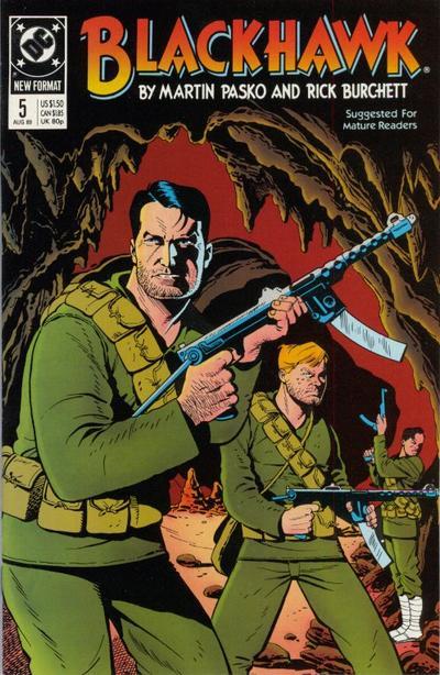 Cover for Blackhawk (DC, 1989 series) #5
