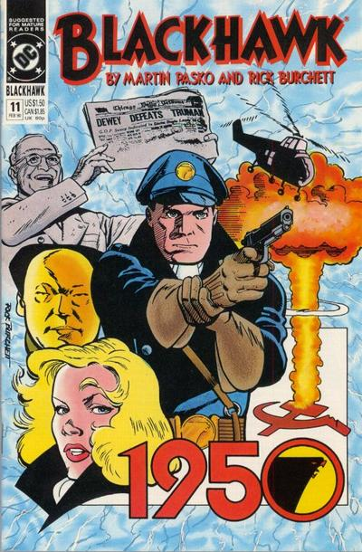 Cover for Blackhawk (DC, 1989 series) #11