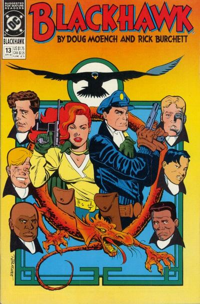 Cover for Blackhawk (DC, 1989 series) #13