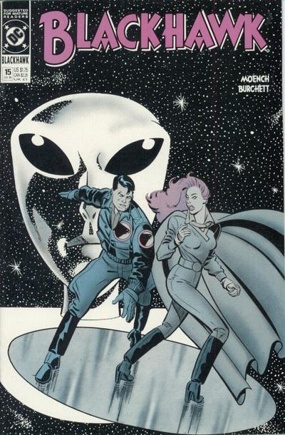 Cover for Blackhawk (DC, 1989 series) #15