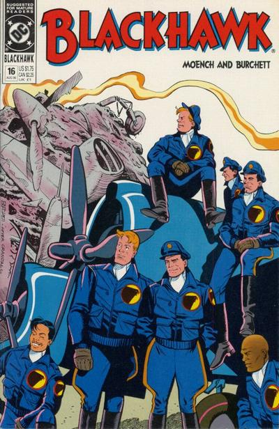 Cover for Blackhawk (DC, 1989 series) #16