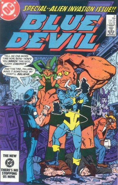 Cover for Blue Devil (DC, 1984 series) #6 [Direct Edition]