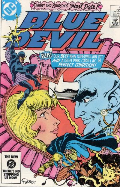 Cover for Blue Devil (DC, 1984 series) #7 [Direct Edition]
