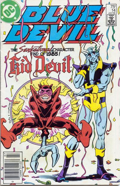 Cover for Blue Devil (DC, 1984 series) #14 [Direct Sales]