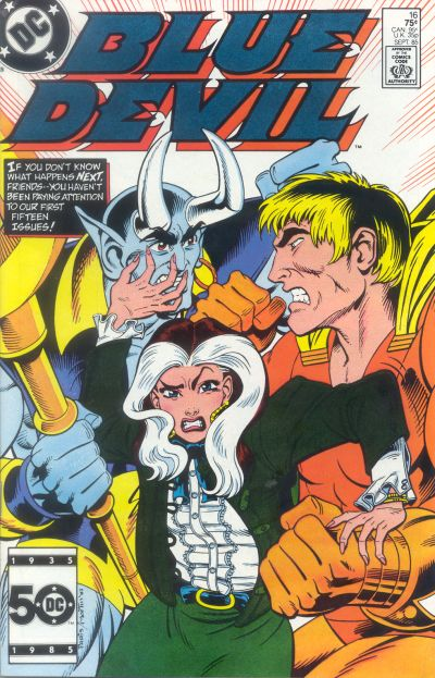 Cover for Blue Devil (DC, 1984 series) #16 [Direct Sales]