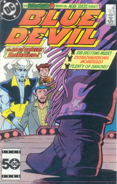 Cover for Blue Devil (DC, 1984 series) #20 [Direct Sales]