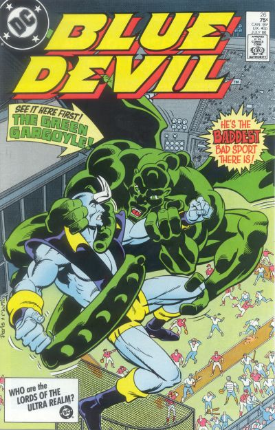 Cover for Blue Devil (DC, 1984 series) #26 [Direct Sales]