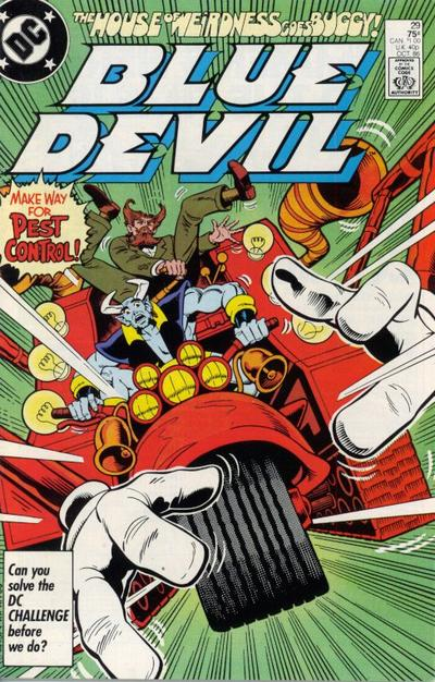 Cover for Blue Devil (DC, 1984 series) #29 [Direct Sales]