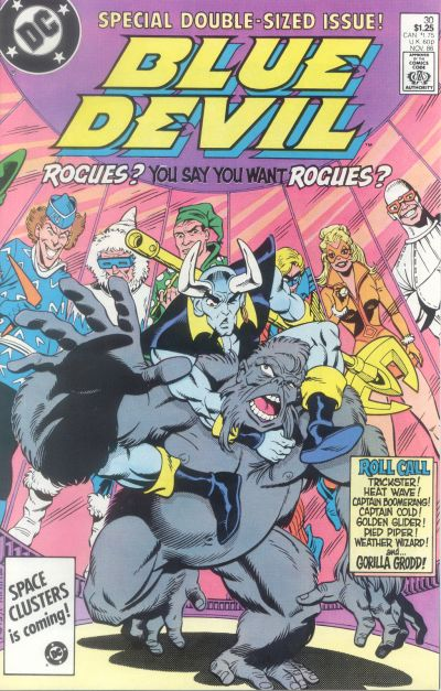 Cover for Blue Devil (DC, 1984 series) #30 [Direct Sales]