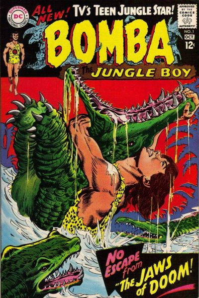 Cover for Bomba the Jungle Boy (DC, 1967 series) #1