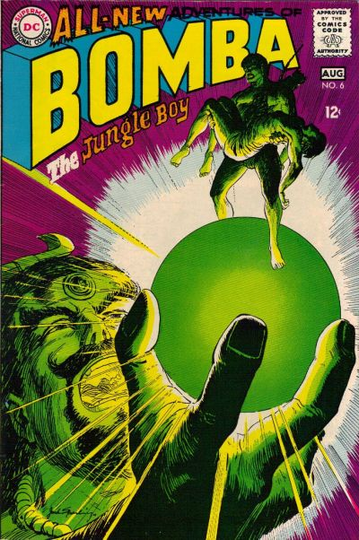 Cover for Bomba the Jungle Boy (DC, 1967 series) #6