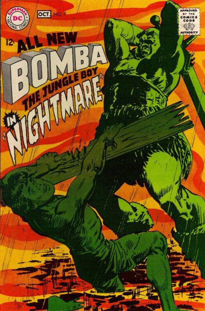 Cover for Bomba the Jungle Boy (DC, 1967 series) #7