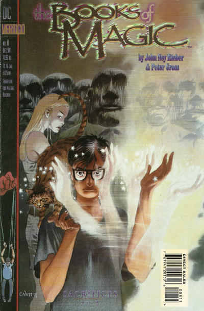 Cover for The Books of Magic (DC, 1994 series) #8