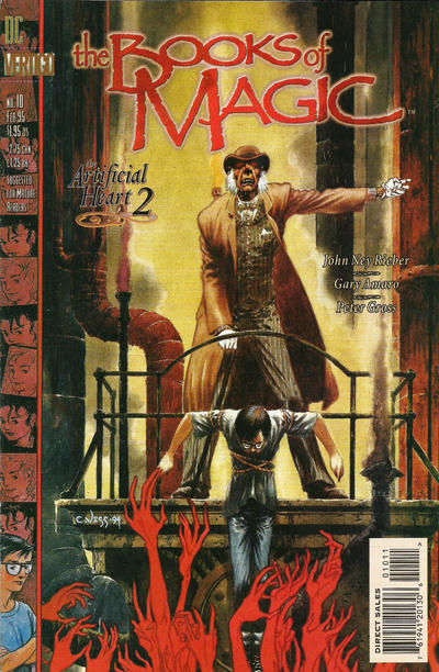Cover for The Books of Magic (DC, 1994 series) #10