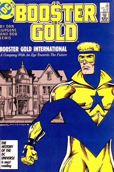 Cover for Booster Gold (DC, 1986 series) #16 [Direct]