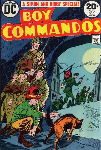 Cover for Boy Commandos (DC, 1973 series) #2