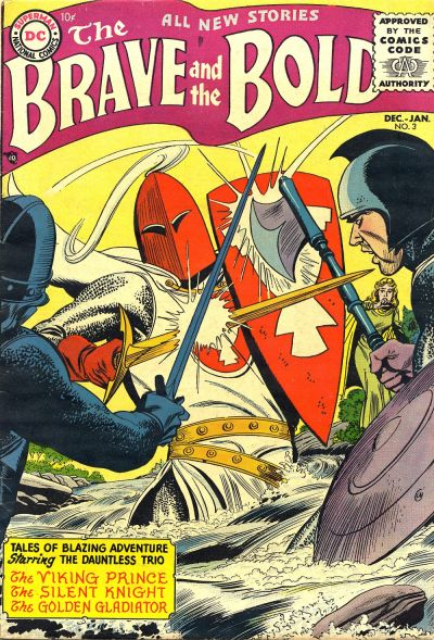 Cover for The Brave and the Bold (DC, 1955 series) #3