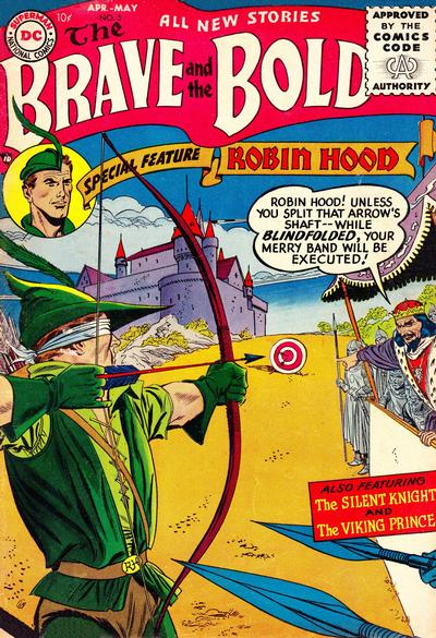 Cover for The Brave and the Bold (DC, 1955 series) #5
