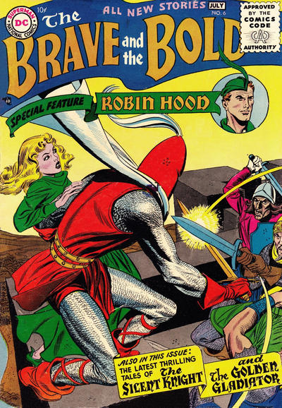 Cover for The Brave and the Bold (DC, 1955 series) #6