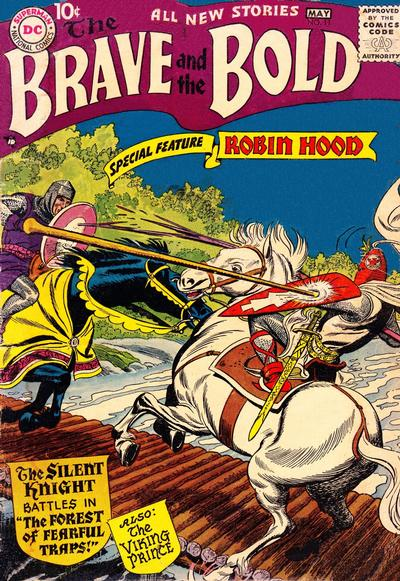 Cover for The Brave and the Bold (DC, 1955 series) #11