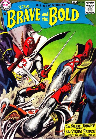 Cover for The Brave and the Bold (DC, 1955 series) #18