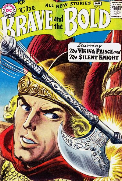Cover for The Brave and the Bold (DC, 1955 series) #21