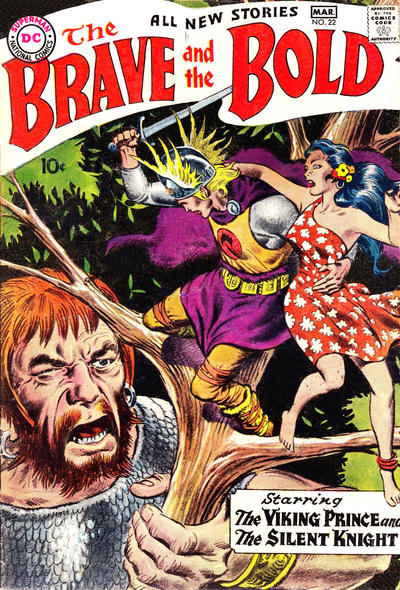 Cover for The Brave and the Bold (DC, 1955 series) #22