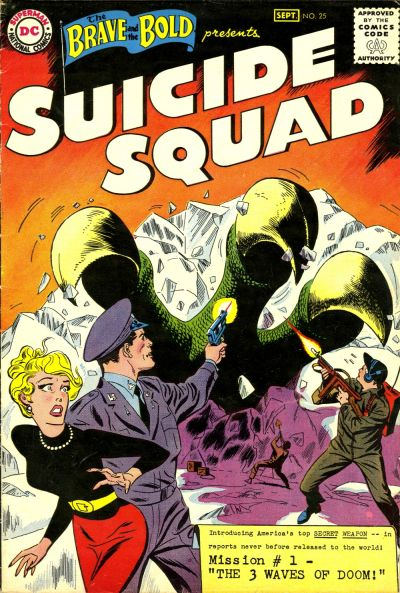 Cover for The Brave and the Bold (DC, 1955 series) #25