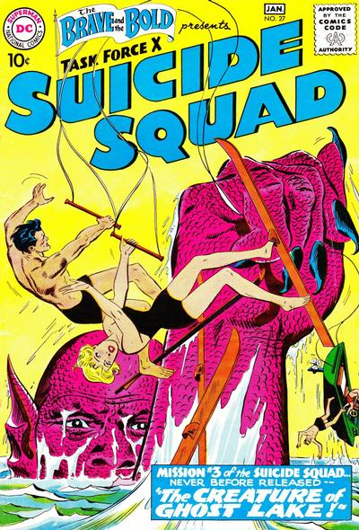 Cover for The Brave and the Bold (DC, 1955 series) #27