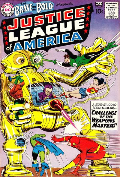 Cover for The Brave and the Bold (DC, 1955 series) #29