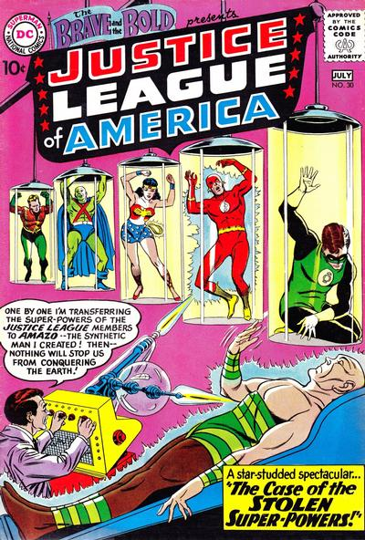 Cover for The Brave and the Bold (DC, 1955 series) #30