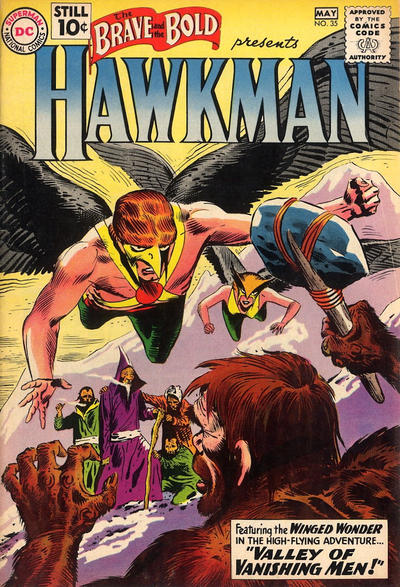 Cover for The Brave and the Bold (DC, 1955 series) #35