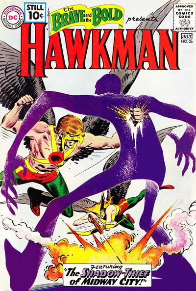 Cover for The Brave and the Bold (DC, 1955 series) #36