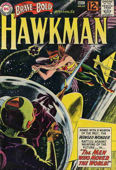 Cover for The Brave and the Bold (DC, 1955 series) #44