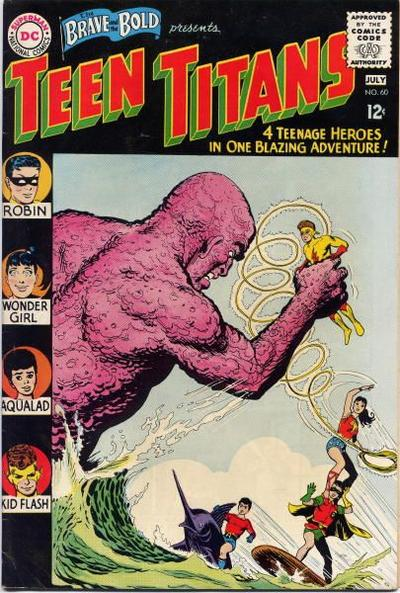 Cover for The Brave and the Bold (DC, 1955 series) #60