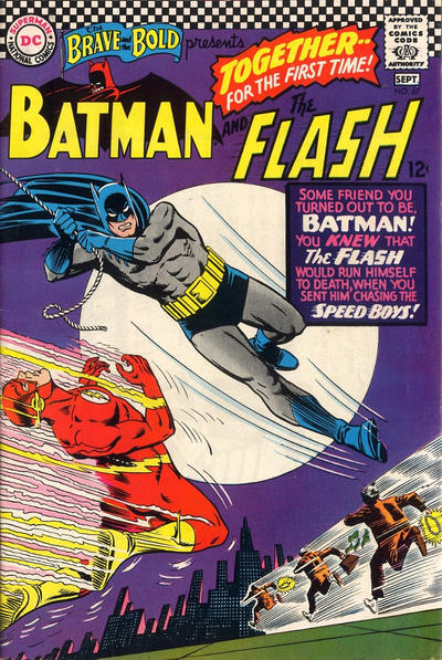 Cover for The Brave and the Bold (DC, 1955 series) #67