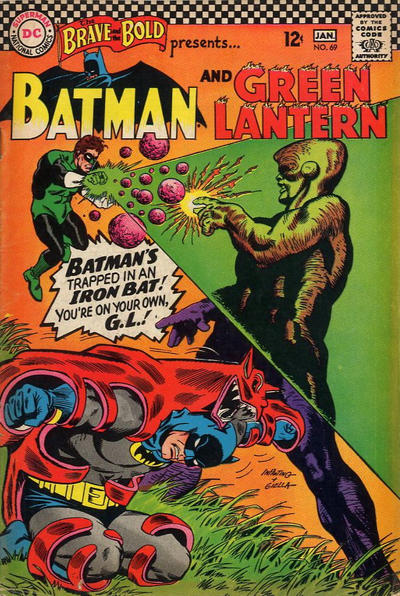 Cover for The Brave and the Bold (DC, 1955 series) #69