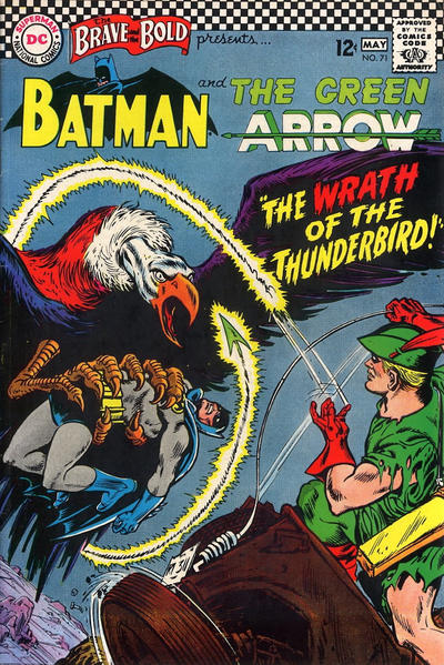 Cover for The Brave and the Bold (DC, 1955 series) #71