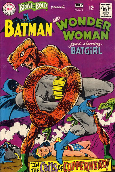 Cover for The Brave and the Bold (DC, 1955 series) #78