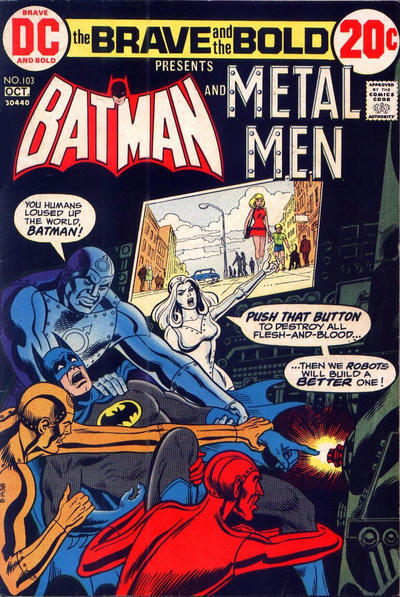 Cover for The Brave and the Bold (DC, 1955 series) #103