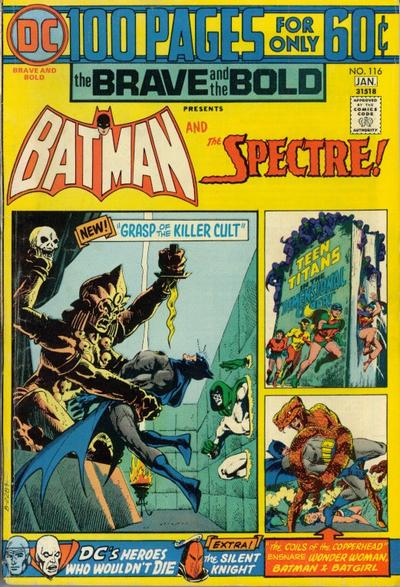 Cover for The Brave and the Bold (DC, 1955 series) #116