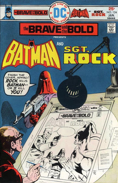 Cover for The Brave and the Bold (DC, 1955 series) #124