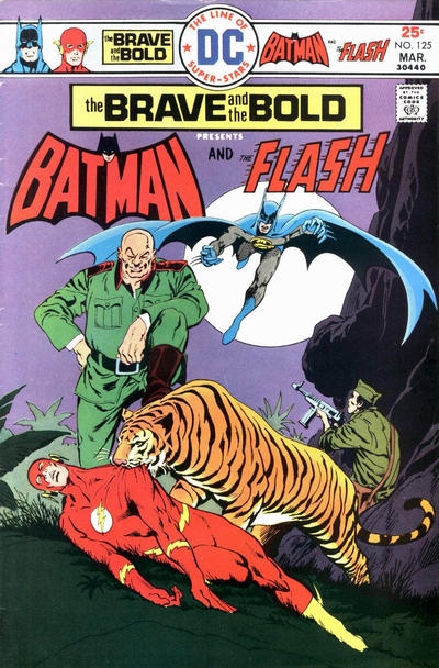Cover for The Brave and the Bold (DC, 1955 series) #125